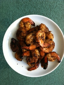 Blackened shrimped
